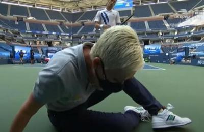 Jueza de línea a la que golpeó Djokovic recibió amenazas de muerte por 'exagerar'