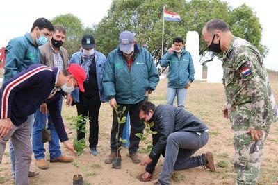 Reforestaran sitios históricos de Ñeembucú