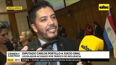 Diputado Carlos Portillo, a juicio oral