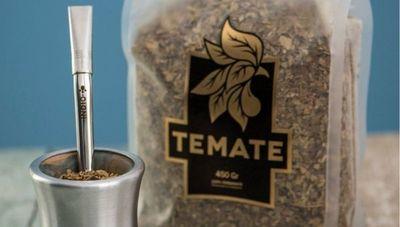 Un nuevo sabor en el mercado: Temate ofrece yerba mate 100% a base de hojas