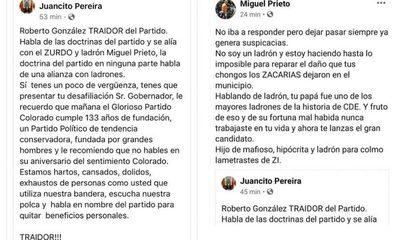 Hijo de stronista intenta instalarse criticando al Gobernador y a Prieto, y recibe vendaval de burlas