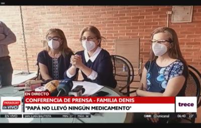 Hijas de Óscar Denis claman por comunicación de los captores