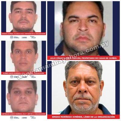 SENAD y Policía Federal desmantelan supuesta organización criminal en la frontera