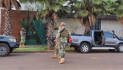 Policía Federal,  Senad y Fiscalía desencadenan operativo contra lavado de dinero proveniente del narcotráfico.