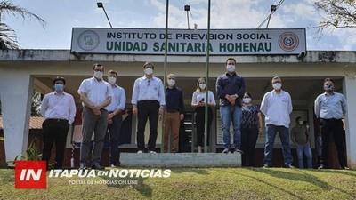 AMPLÍAN URGENCIAS E INSTALAN TOMA DE OXÍGENO EN IPS DE HOHENAU