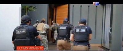 Mega operativo desmantela presunta banda de narcotraficantes