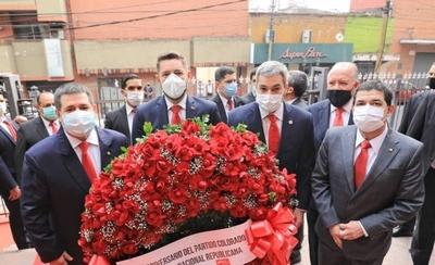 HOY / ANR celebra 133 años: Abdo y Cartes participan del acto