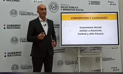Recomiendan cuarentena social en Concepción y Caaguazú – Prensa 5