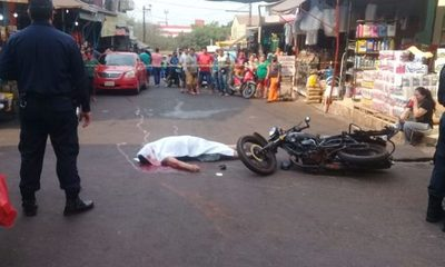 Accidente fatal en el mercado de abasto de CDE