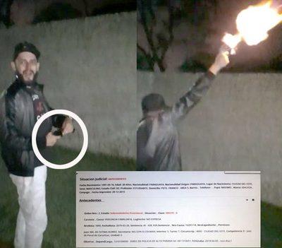 Sujeto de manera irresponsable y criminal es grabado cuando realiza disparos al aire – Diario TNPRESS