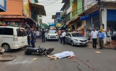 Presunta falla de frenos causa accidente y muerte de un motociclista