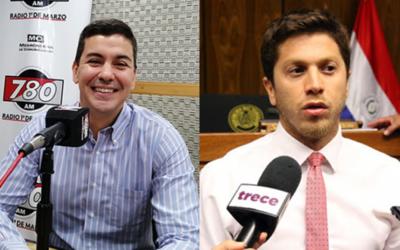 Santiago Peña y Carlos Rejala se candidatarán a la Presidencia de la República