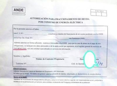 Morosos de la ANDE pueden ir a Informconf – Prensa 5