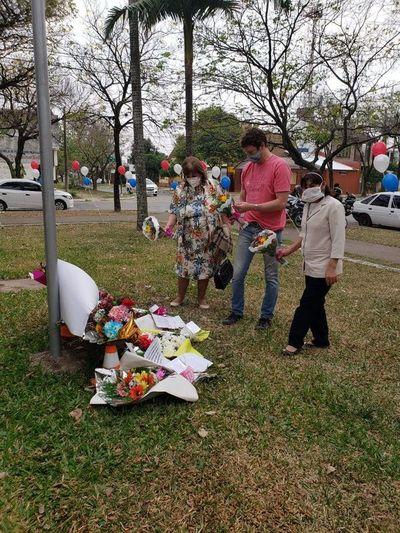 La guerra de las flores llegó hasta la Argentina