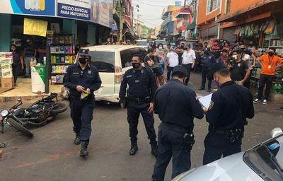 Motociclista muere en accidente en el Mercado de Abasto de CDE