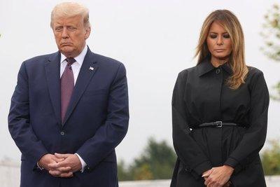 """Trump recordó a víctimas del 11S: """"No importa la amenaza, EEUU siempre se levantará y seguirá peleando"""""""