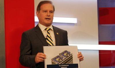Durand asegura que archivos quemados serán recuperados