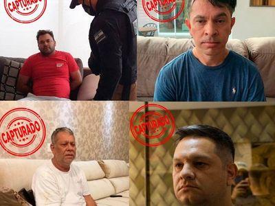 Operación Status: Detienen a 4 cabecillas de la organización criminal