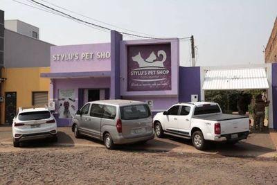 Lavandería de plata sucia: narcos usaban concesionaria y hasta una veterinaria en Pedro Juan