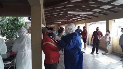 COVID-19: toman 200 muestras en penitenciaría de Concepción