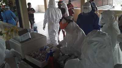 Toman 200 muestras de COVID en Penitenciaría de Concepción