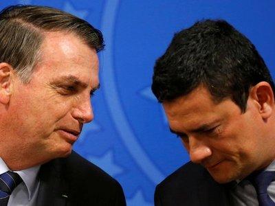 Corte de Brasil ordena declaración de Bolsonaro por acusación de Moro