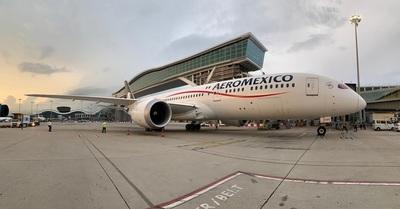 Aeroméxico rompe récord con nuevo vuelo de Hong Kong en medio de la crisis