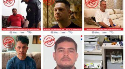 De las cinco principales cabecillas de la banda que lavaba dinero en Pedro Juan Caballero, cuatro ya fueron detenidas. Falta el hombre que se encargaba de la contabilidad.