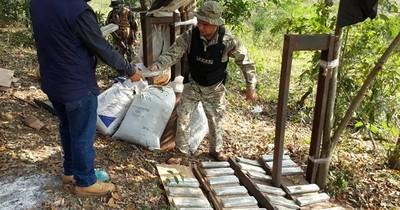 La Nación / Se incautaron 3.500 kilos de marihuana tras enfrentamiento con narcos