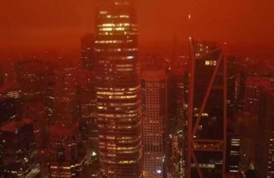 Bello y desolador: el cielo de San Francisco parece una escena sacada de Blade Runner 2049