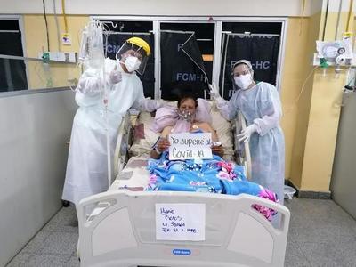 Suman dos nuevos recuperados de Covid-19 en el Hospital de Clínicas