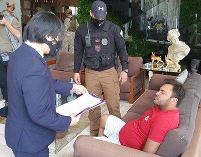 Paraguay y Brasil realizan operativo para desmantelar esquema de tráfico de drogas y lavado de activos