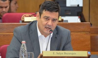 Buzarquis presentará pedido de pérdida de investidura de Zacarías Irun