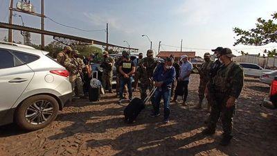 """Brasileños detenidos en operativo """"Status"""" son expulsados"""
