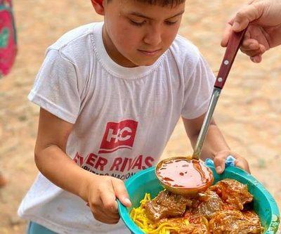 Empedrado, olla popular y merienda para recordar al Centauro, en Paraguarí