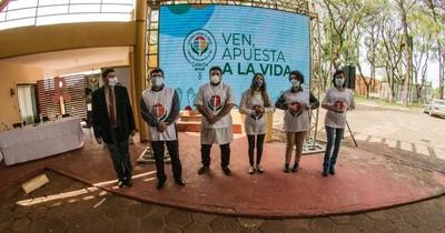 La Nación / Apostar por la Vida inició jornadas de colecta solidaria