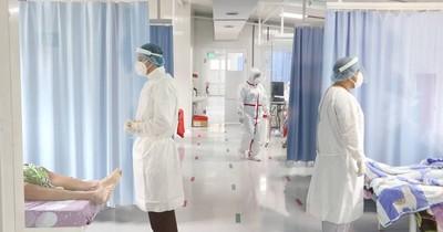 La Nación / Hospital de Itauguá tiene 99% ocupadas las camas de terapia