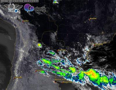 Alerta de tormentas para el sur durante la madrugada