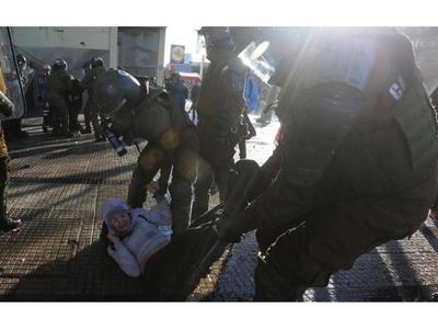 Disturbios en Chile a 47 años del golpe
