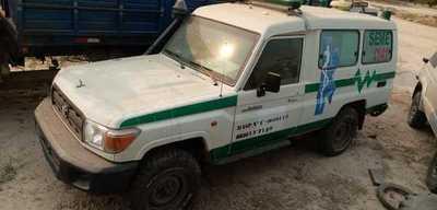 En Toro Pampa juntan colaboración para reparar ambulancia