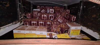 Decomisan packs de cerveza y 150 toneladas de cemento en Canindeyú