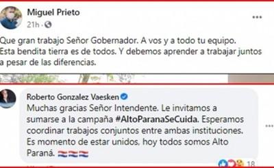 """Unión entre Prieto y Vaesken molesta a los """"correlí"""""""