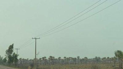 Incendios dejan el aire insalubre en varios puntos del país