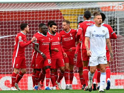 Trepidante arranque: Liverpool 4-3 Leeds United