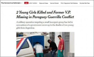 New York Times se hace eco de los últimos acontecimientos con el EPP