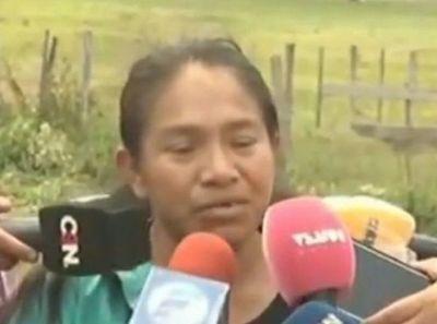 Madre de Adelio: