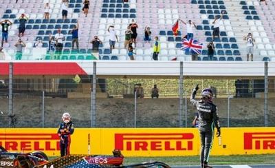 HOY / F1: Hamilton firma la 'pole' en Mugello