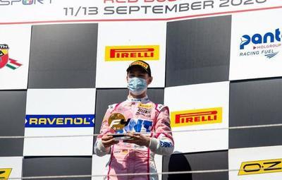 Joshua Duerksen logró una victoria en el Campeonato italiano de Fórmula 4