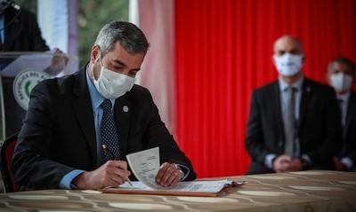 Ejecutivo oficializa la cuarentena social en los departamentos de Concepción y Caaguazú