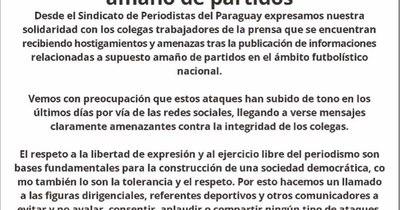La Nación / SPP repudió ataque a periodista